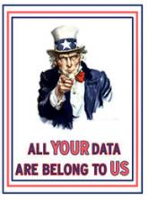 I Want You - All Your Data Are Belong To Us