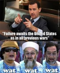 Syria Failure Awaits the US